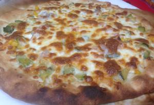 Pizza Jamón York Maíz