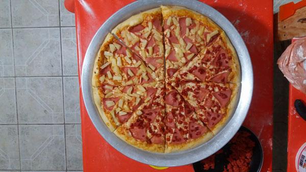 Envía fotos de tu pizza: Pizza de Francisco Vazquez