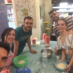 taller masa de pizza en barcelona 30 junio 2018