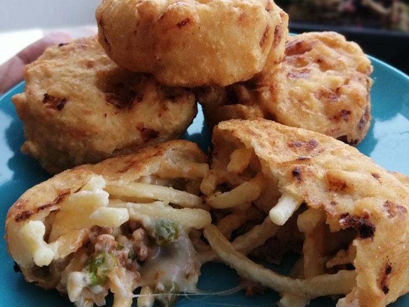 frittatina di pasta napolitana