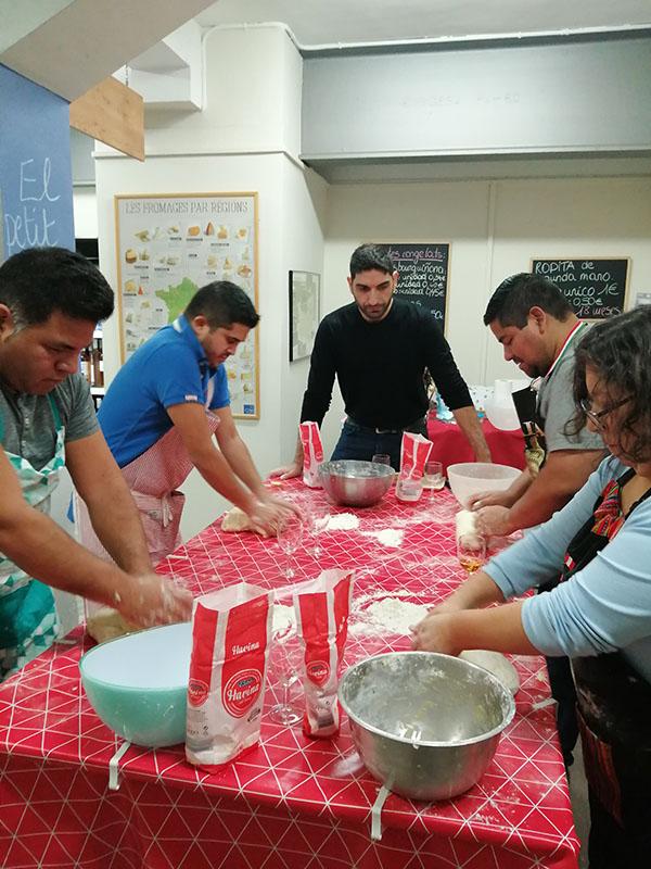 taller de pizza en Barcelona