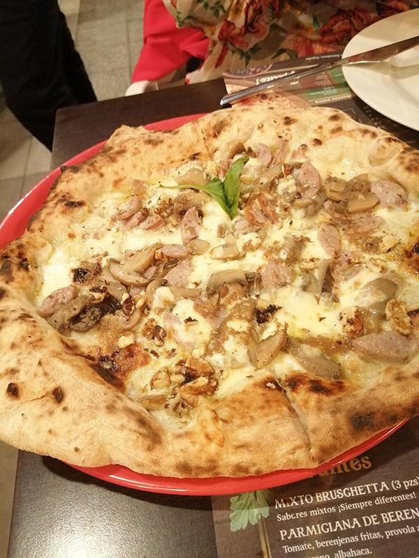 pizzeria napolitana en Barcelona