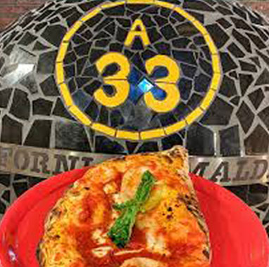 Pizzeria napolitana A33 Barcelona